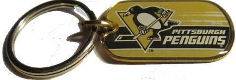 Pittsburgh Penguins dog tag key ring - Sports Nut Emporium