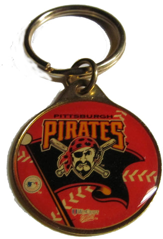 Pittsburgh Pirates brass key ring - Sports Nut Emporium