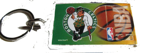 Boston Celtics acrylic key ring - Sports Nut Emporium
