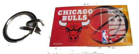 Chicago Bulls Acrylic Key ring - Sports Nut Emporium