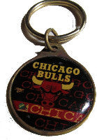 Chicago Bulls NBA brass key ring - Sports Nut Emporium