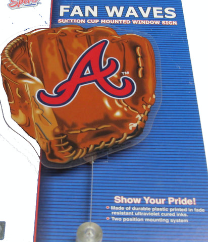 Atlanta Braves Officially licensed MLB fan wave - Sports Nut Emporium