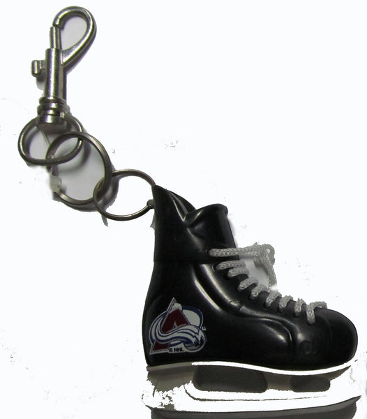 Colorado Avalanche hockey skate key ring - Sports Nut Emporium