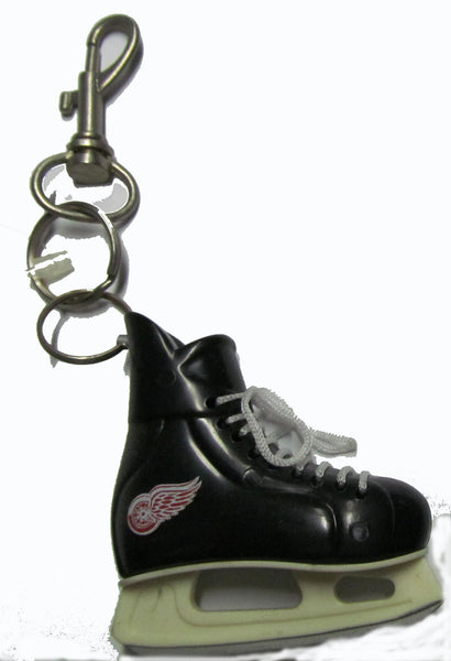 Detroit Red Wings hockey skate key ring - Sports Nut Emporium