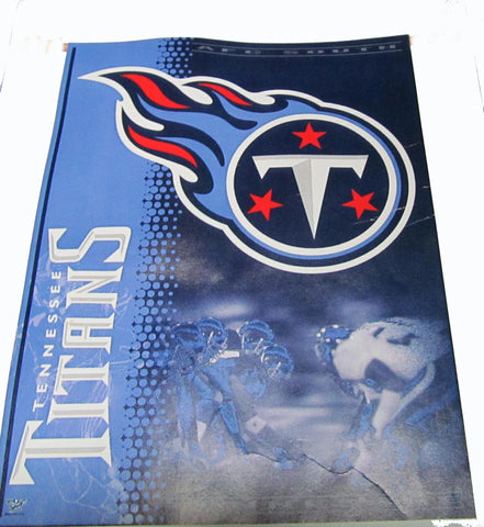 Tennessee Titans vertical flag - Sports Nut Emporium