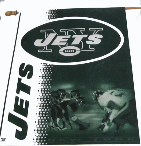 New York Jets vertical flag - Sports Nut Emporium