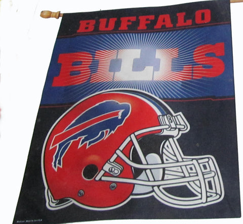 Buffalo Bills vertical flag - Sports Nut Emporium