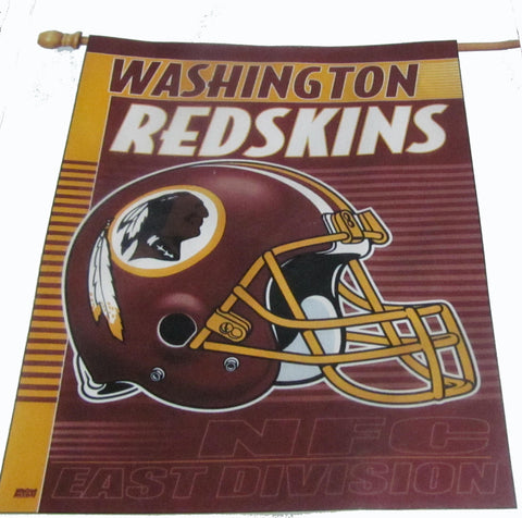 Washington Redskins vertical flag - Sports Nut Emporium