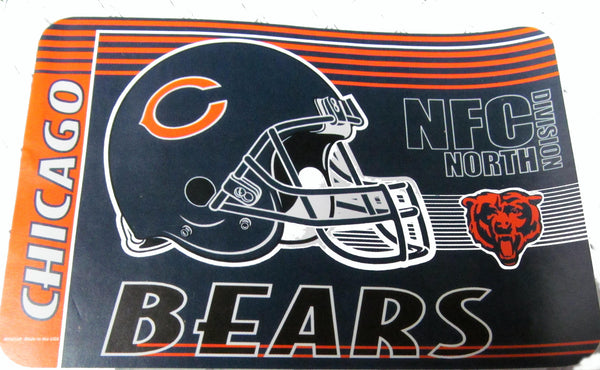 "Chicago Bears 20 X 30"" welcome mat - Sports Nut Emporium"