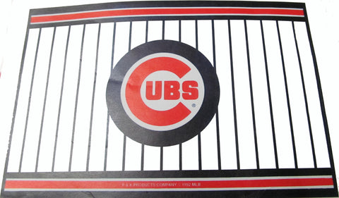 "Chicago Cubs 24 X36"" welcome mat - Sports Nut Emporium"
