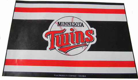 Minnesota Twins 24X36' welcome mat - Sports Nut Emporium