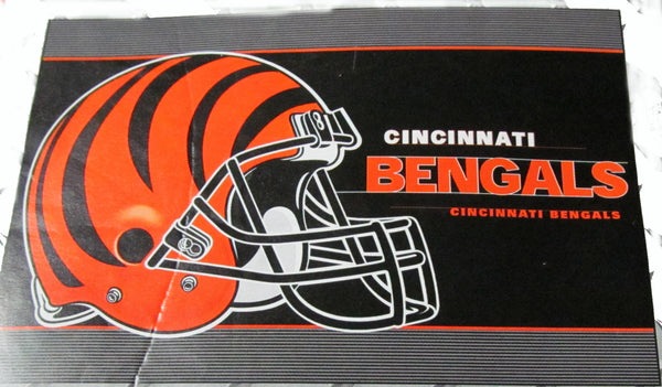 "Cincinnati Bengals 24 X 36"" welcome mat - Sports Nut Emporium"