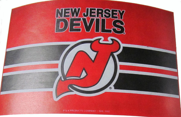 "New Jersey Devils 24 X 36 "" welcome mat - Sports Nut Emporium"