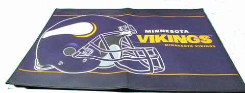 "Minnesota Vikings 24 X 36"" welcome mat - Sports Nut Emporium"