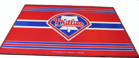 "Philadelphia Phillies 24 X 36"" welcome mat - Sports Nut Emporium"