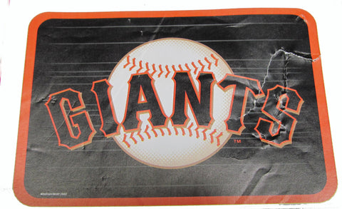 "San Fransisco Giants 20 x 30 "" welcome mat - Sports Nut Emporium"