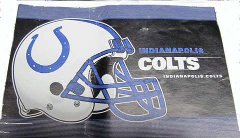 "Indianapolis Colts 24 X 36 "" welcome mat - Sports Nut Emporium"
