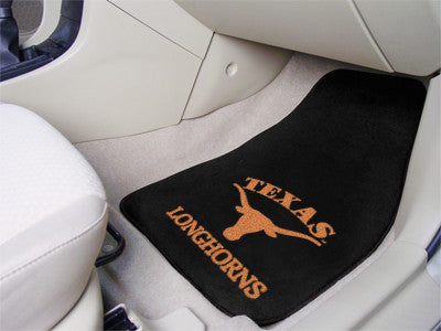 University of Texas  Longhorns carpet car mat - Sports Nut Emporium