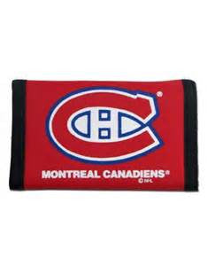 Montreal Canadiens nylon wallet - Sports Nut Emporium