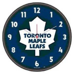 Toronto Maple Leafs wall clock - Sports Nut Emporium