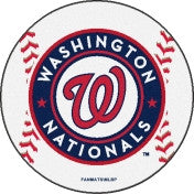 Washington Nationals baseball floor mat - Sports Nut Emporium