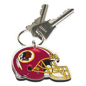 Washington Redskins acrylic premium key ring - Sports Nut Emporium