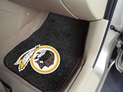 Washington Redskins carpet car mat - Sports Nut Emporium