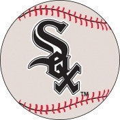Chicago White Sox baseball floor mat - Sports Nut Emporium