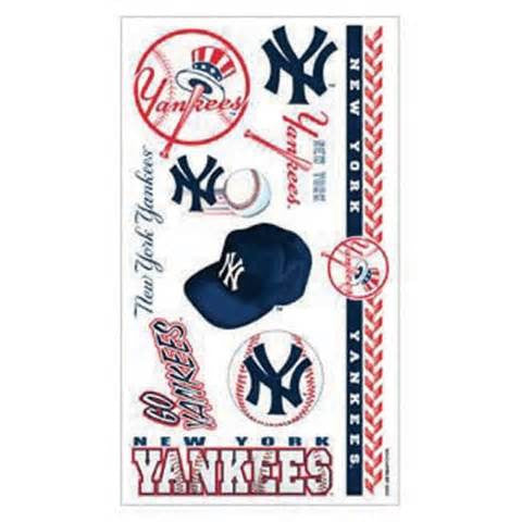 New York Yankees temporary tattoos - Sports Nut Emporium