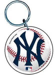New York Yankees premium acrylic key ring - Sports Nut Emporium