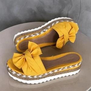 Bow-Knot slippers with thick soles platform sandals(BUY 2 FREE SHIPPING!!!!)