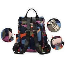 Load image into Gallery viewer, 2020 new beautiful water resistant Anti-theft Backpack