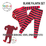 blank pajamas wholesale pricing leveret holiday christmas striped matching pj's pajama sets for the family.  Coordinating matching trendy pajamas tradition. soft cotton unisex all ages. baby infant toddler kids youth teen boy girl men women adult sizes. fast shipping wholesale pricing BLANKS blank pajamas. Add your own vinyl or embroidery or sublimation. cute popular best seller best selling pajamas sleepwear leveret