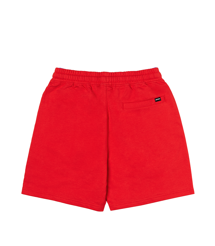 ロゴ ハーフパンツ レッド / Logo Half Pants Red - whoisnerdy jp
