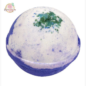 Lavender and Mint Fizzy Organic Bath Bomb