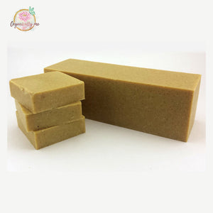 Banana Coconut Soap Scrub Bar