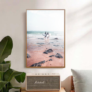 Gradient Beach Surfers - Bad Bixch Decor