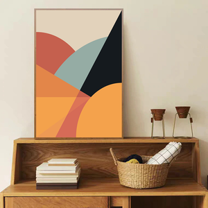 Bright Abstract - Bad Bixch Decor
