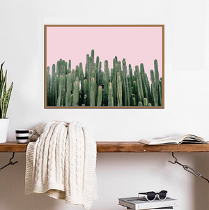 Pink Sky Cactus - Bad Bixch Decor