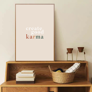 Good Karma - Bad Bixch Decor