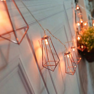 Geometric String Lights - Bad Bixch Decor