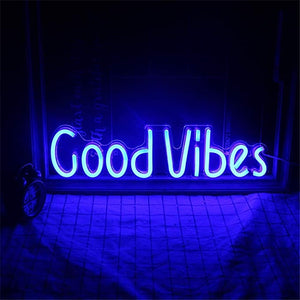 Good Vibes Neon Sign - Bad Bixch Decor