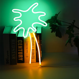 Palm Tree Neon Light - Bad Bixch Decor