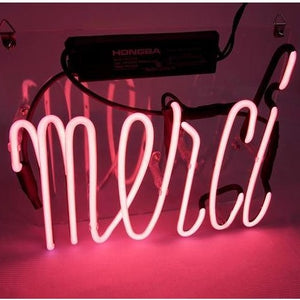Merci Neon Light - Bad Bixch Decor