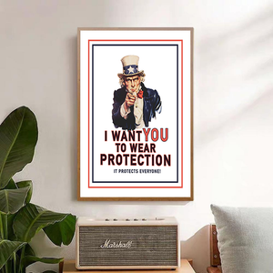 I Want YOU to Wear Protection! - Bad Bixch Decor