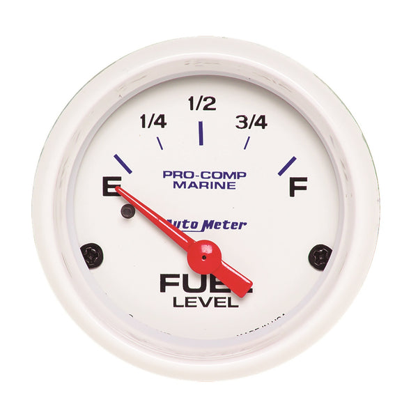 2-1/16 in. FUEL LEVEL 240-33 O MARINE WHITE