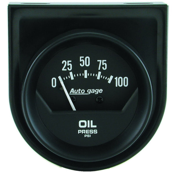 2-1/16 in. OIL PRESSURE 0-100 PSI AUTO GAGE