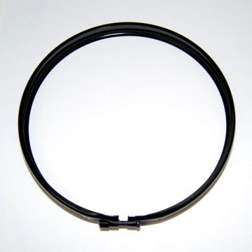 "6"" Daylighter Bezel with Screw and Nut - Black - KC #3026"