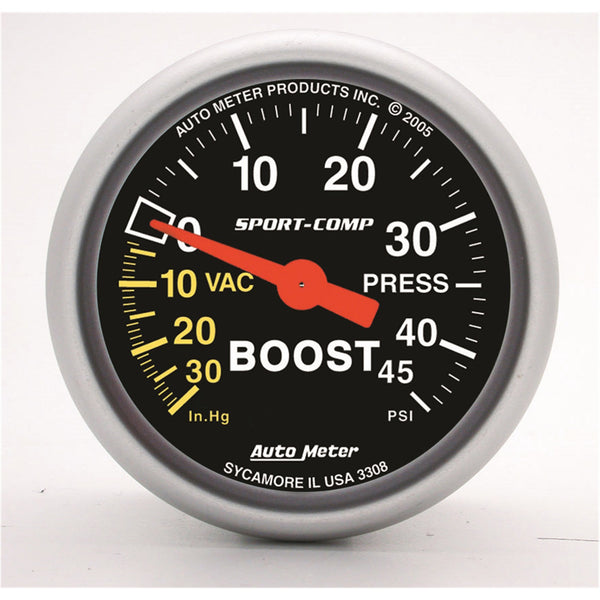 2-1/16 in. BOOST/VACUUM 30 IN HG/45 PSI SPORT-COMP