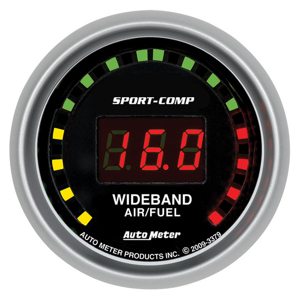 2-1/16 in. WIDEBAND STREET AIR/FUEL RATIO 10:1-17:1 AFR SPORT-COMP